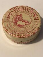 Vintage Good Samaritan Ointment Antiseptic Tin