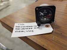 Cessna Aircraft Clock P/N# C664508-0101