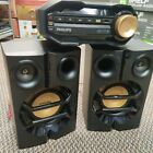 Philips FX10 Mini Hi-Fi Stereo System FM CD USB MP3 & Speakers WITH REMOTE
