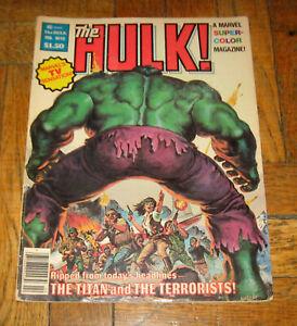 THE HULK! # 13  FEB. 1979  MARVEL COMICS