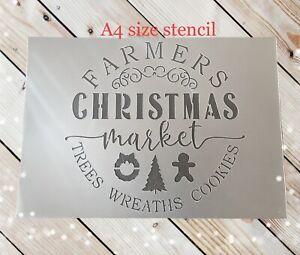 Merry Christmas Stencil,farmhouse Christmas Sign,Christmas Tree Stencil, Xmas