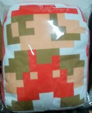 "Little Buddy Super Mario Bros. Mario 14"" Stuffed Plush Pillow Cushion Nintendo *"
