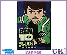 Authentic Ben 10 Childrens Kids Rug Bedroom Door-Non Slip Mat Poison 80 cm x 50 cm