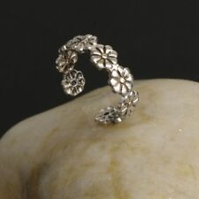 Jewelry Toe Joint Ring Adjustable Retro Women Daisy Flower Small Vintage Foot
