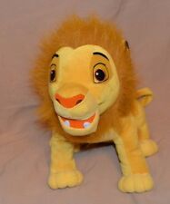 "15"" Simba Lion King Plush Disney Collectible Rare Silver Cub Emblem On Foot"