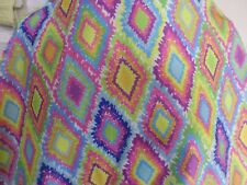 1yd print  fabric good weight 4 way spandex lycra MADE IN USA J4937