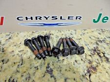 03-15 Dodge Ram Jeep 3.7L 4.7L 5.7L Exhaust Manifold Bolt Set of 8 Factory Mopar