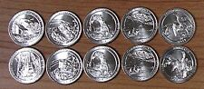 2015 National Park Quarters  P& D Yearly Uncirculated coin set
