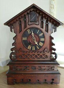 Antique Cuckoo Clock for Restoration, 1918