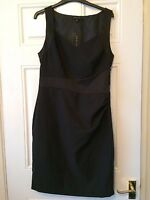Ladies Black New Look Dress Size 14 New With Tags B13
