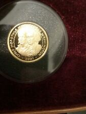 2005 Poarch Creek Indian $5 Gold Proof 1/5 Oz. Coin-COA