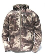 Cabela's Men's Lookout Series Fleece Hooded Silent Hunting Jacket O2 Octane Camo