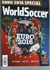 WORLD SOCCER May 2016 EURO 2016 SPECIAL 552 Players Profiled Inside 24 TEAMS New