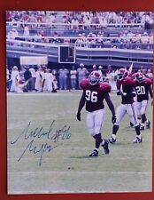 New listing MICHAEL MYERS SIGNED ALABAMA FOOTBALL 8X10 PHOTO - MAKE OFFER!