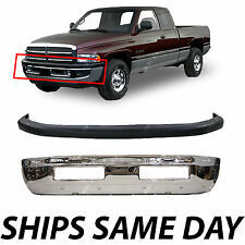 NEW - Front Bumper Combo Kit Bundle For 1994-2001 Dodge Ram Truck 1500 2500 3500
