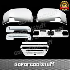 2015 Ford F-150 2 Door +Base Plate+Mirror+Tailgate Trunk W/Sensor Chrome Covers