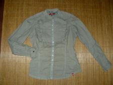 Hüftlange Esprit Damenblusen, - tops & -shirts ohne Kragen