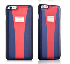 Aston Martin Racing Strap iP6 Plus/6s Plus Genuine Leather BackCover Case-DB+Red
