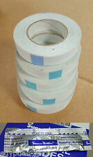 5x Double Sided Tape 25mm x 50m Strong Banners Clear Hem Hemming Sign High Tack