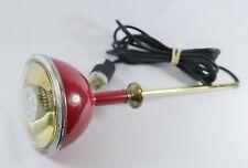 Vintage S&M Los Angeles Sightlight Lamp Sight Light Red Gold Rod - Repair