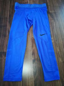 Nike Pro Hypercool 3/4 Camo Leggings Herren Sport Laufen Hose 828164-452 Neu S