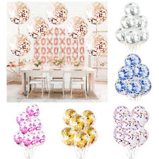 20PCS 12In Confetti Balloons Premium Latex Party Balloon Wedding Decorations