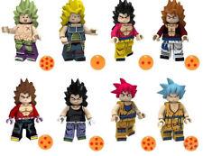 Dragon Ball Z Son Goku Bulma Tenshin Building Blocks Broli Vegeta Burdock Toys