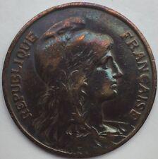 France 10 centimes Dupuis 1910 bronze #1291
