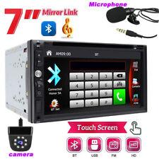 "New listing 7"" 2Din Car Stereo Radio Dvd Player Bluetooth Car Audio In-Dash Sd Usb+Camera"