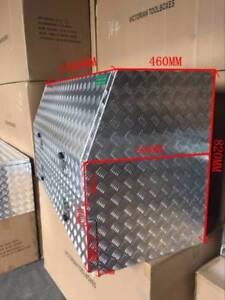 Aluminium Toolboxes Heavy Duty Full Door ute with 2 Drawers 140x60x82cm tool box