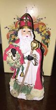 The Inernational Santa Claus Collection. St Nicholas, Austria. 1995.Original Box