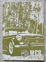 MG MGB TOURER & GT USA Car Driver's Handbook Nov 1971 #7938