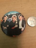 The Police Button Badge Pin Pinback Vintage
