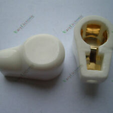 10pc New GOLD Tube Caps Ceramic Socket for 811 805 572B 813 MCDG audio amp parts