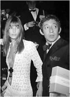 Jane Birkin and Serge Gainsbourg Canvas Wall Art Poster Print Erotic Sexy model