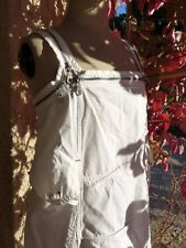 EXCEPTIONNELLE ROBE BLANCHE MARITHE FRANCOIS GIRBAUD F 34 36 us 26 i 40 d 34 tbe