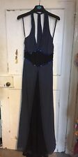 Trinny And Susannah Evening Maxi Dress Halter neck Size 12