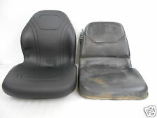 HIGH BACK BLACK SEAT FOR JOHN DEERE JD 655, 755, 855 & 955 COMPACT TRACTOR #FB