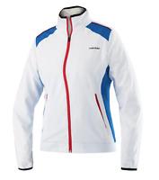 HEAD Tennis Squash Badminton Club Jacket Trainingsjacke weiß Damen Jacke Sport