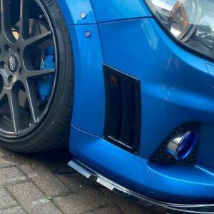 Vauxhall Opel Astra Vectra Zafira VXR universal bumper vent CARBON FIBRE ABS