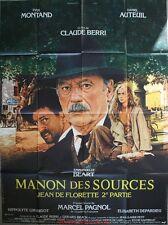 MANON DES SOURCES Affiche Cinéma ORIGINALE / Movie Poster MARCEL PAGNOL