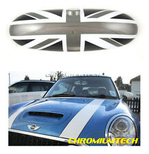 2000-2003 BMW MINI COOPER/S / One R50 R53 COQUE DE RETROVISEUR Noir Union Jack
