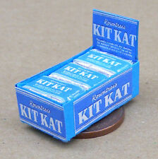 1940's Box Of Kit Kat Chocolate Biscuit Packets Dolls House Miniature Accessory
