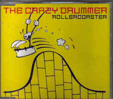 The Crazy Drummer-Rollercoaster cd maxi single eurodance holland
