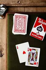 Arrco Tahoe Deck - Red - Dan and Dave Playing Cards - Magic Tricks - New