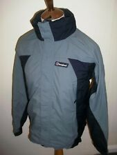 BERGHAUS AQUAFOIL PRO JACKET SIZE SMALL GREY / GREEN