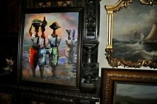Fine Modern Art Painting signed Gillis great colors