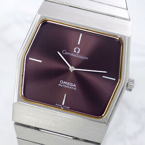 OMEGA CONSTELLATION AUTOMATIC CAL711 CHERRY DIAL MEN'S WATCH