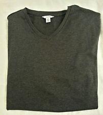 CALVIN KLEIN CK Men's Short Sleeve V Neck T Shirt Size Medium (M) 100% Cotton
