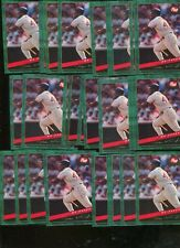 MO VAUGHN BULK LOT OF 30 - 1994 POST COLLECTION CARDS BOSTON RED SOX
